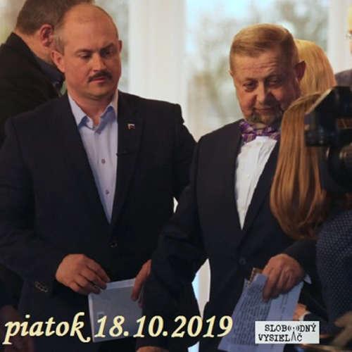 V prvej línii - 2019-10-18 Ponuka Mariána Kotlebu smerok k Štefanovi Harabinovi...