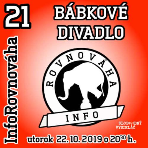 InfoRovnováha 21 - 2019-10-22 BÁBKOVÉ DIVADLO