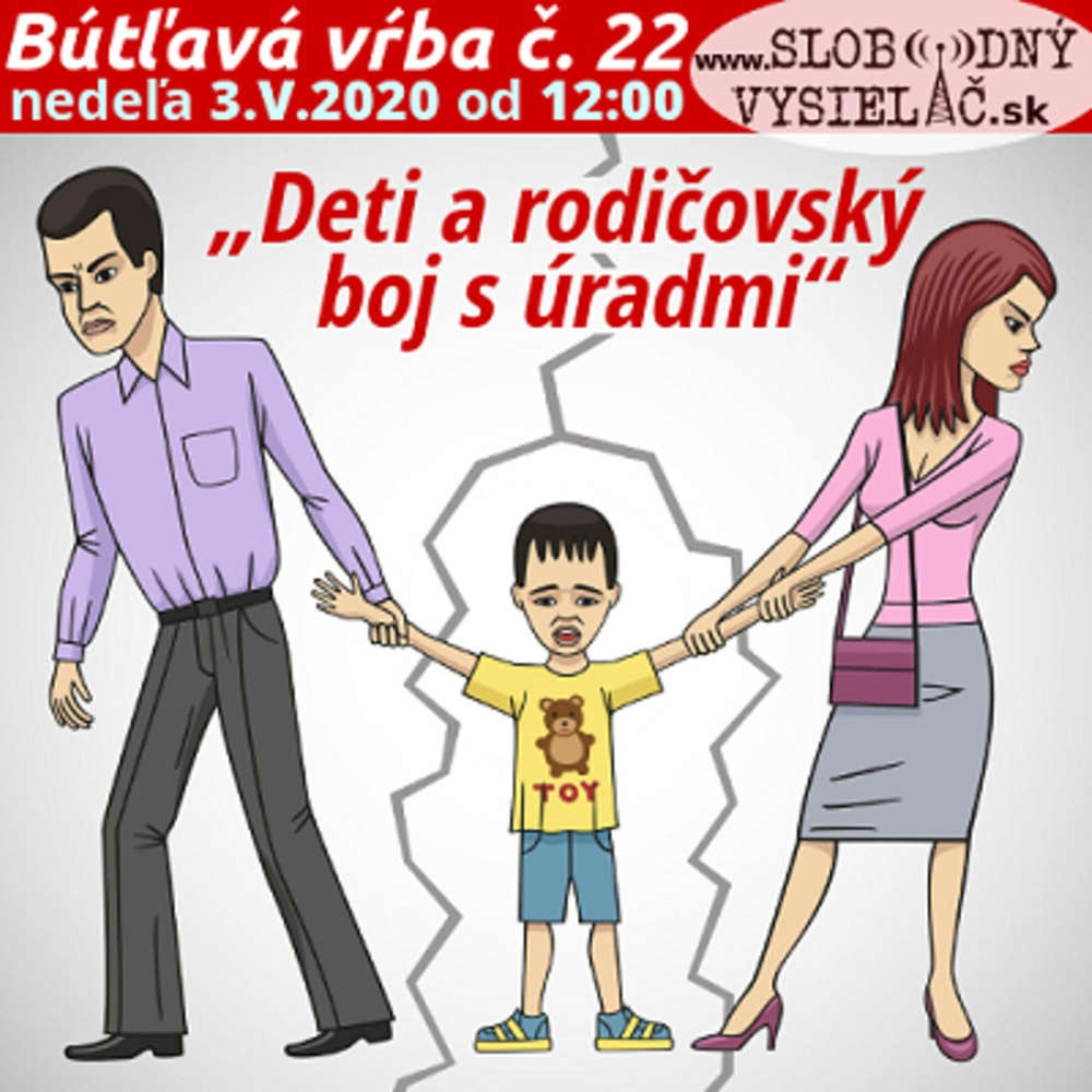 """Bútľavá vŕba 22 - 2020-05-03 """"Deti a rodičovský boj s úradmi"""""""