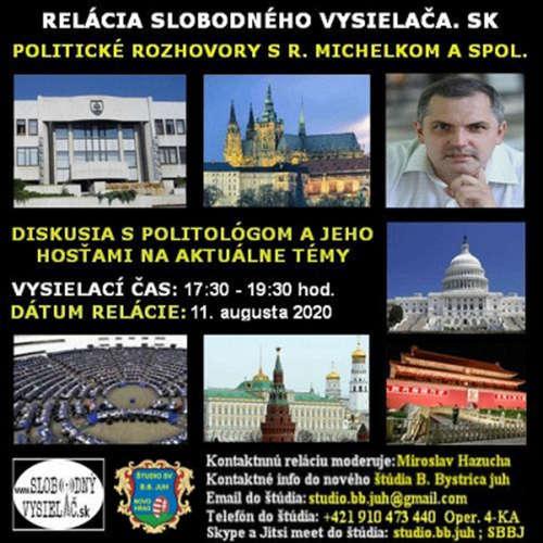 Politické rozhovory 54 - 2020-08-11 Roman Michelko