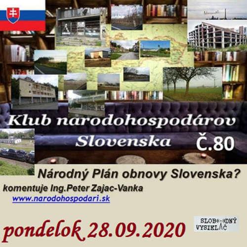 Klub národohospodárov Slovenska 80 - 2020-09-28 Národný Plán obnovy Slovenska ?
