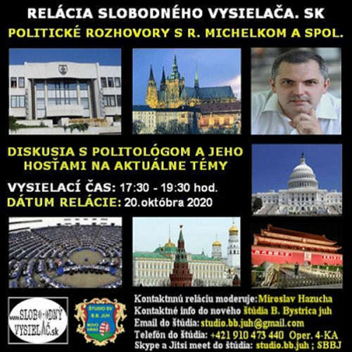 Politické rozhovory 62 - 2020-10-20 Mgr. Roman Michelko