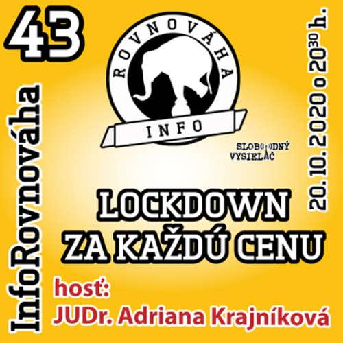 InfoRovnováha 43 - 2020-10-20 Lockdown za každú cenu
