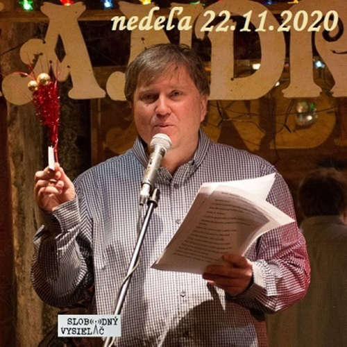 Literárna čajovňa 208 - 2020-11-22 básnik Josef Král