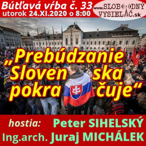 """Bútľavá vŕba 33 - 2020-11-24 """"Prebúdzanie Slovenska pokračuje"""""""