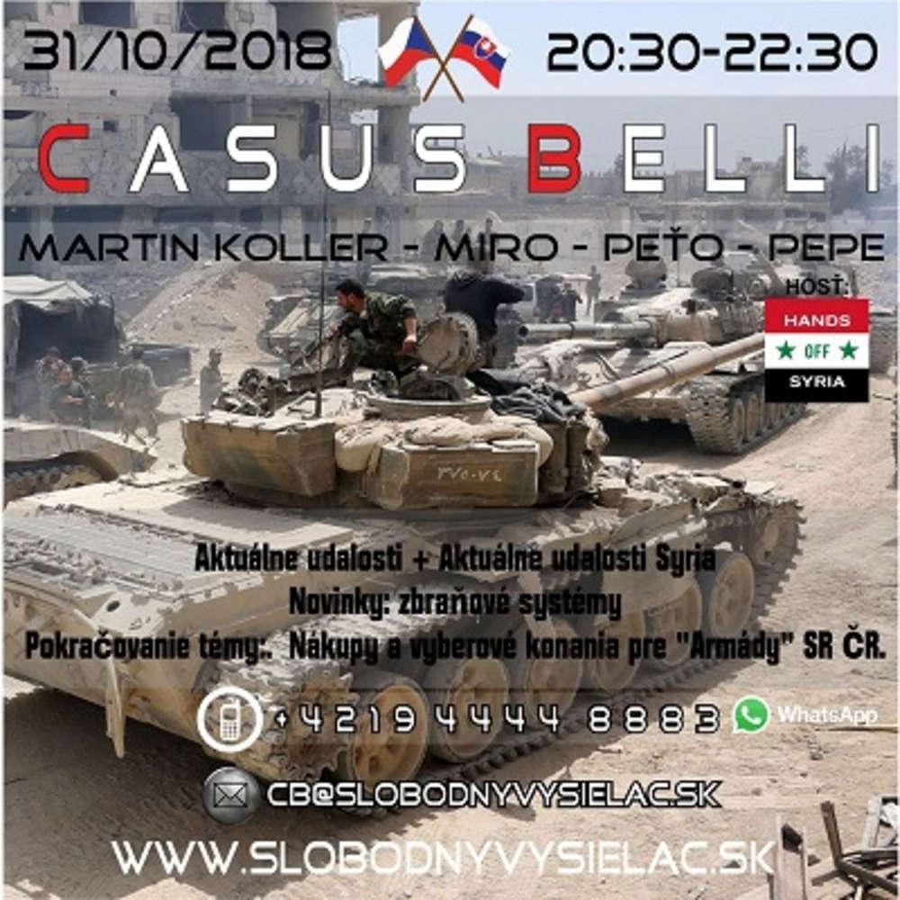 6845aef70 Casus belli 53 - 2018-10-31 Aktualne udalosti + Aktualne udalosti Syria…