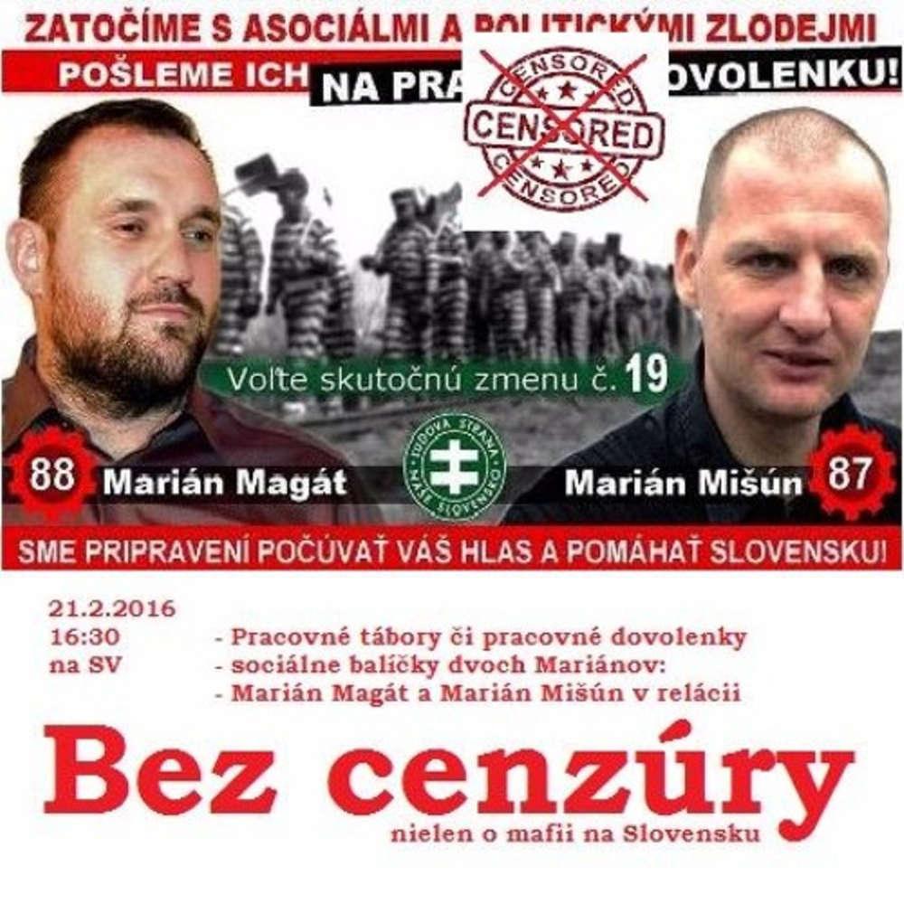 8bc84d1ba Bez cenzury 43 2016 02 21 Marian Magat Marian Mi un o pracovnych taboroch a  dovolenkach