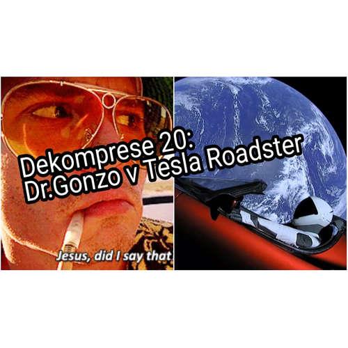 020: Dr. Gonzo v Tesla Roadster