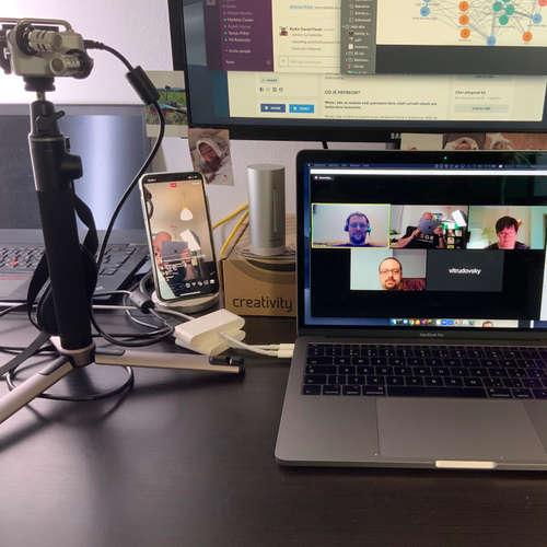 Test Stack 19 vážně nevážně ( záznam  Livestreamu )