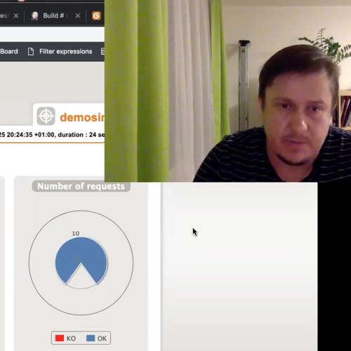 TEST-STACK 22 s Petrem Vlčkem - Gatling ( záznam  Livestreamu )