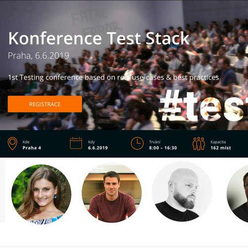 TEST-STACK 32 #testStack Konference ( záznam 🔴 Livestreamu )