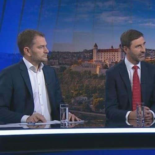 Igor Matovič a Juraj Blanár (1.12.)