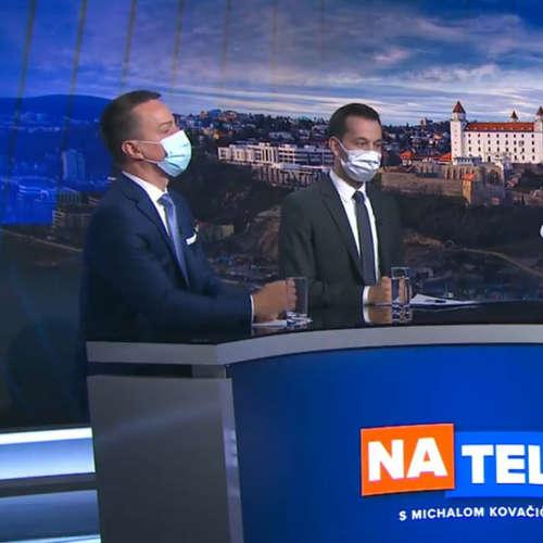 Erik Tomáš (Smer-SD) a Juraj Šeliga (Za ľudí)
