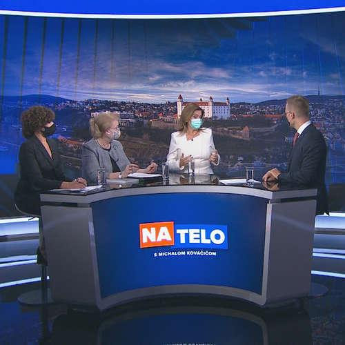 Lucia Ďuriš Nicholsonová (SaS), Anna Záborská (KÚ), Monika Beňová (Smer-SD)