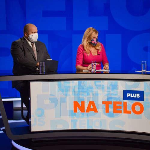 Na telo plus: Jana Vaľová (Smer-SD) a Peter Pčolinský (Sme rodina)