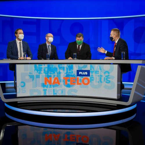 Na telo plus: Marek Krajčí, Vladimír Krčméry a Pavol Jarčuška
