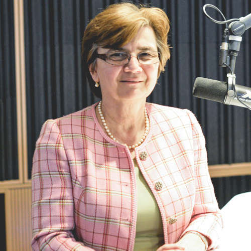 Eva Chmelová - V eurovoľbách krúžkujeme na hlasovacom lístku maximálne... (Braňo Závodský Naživo)