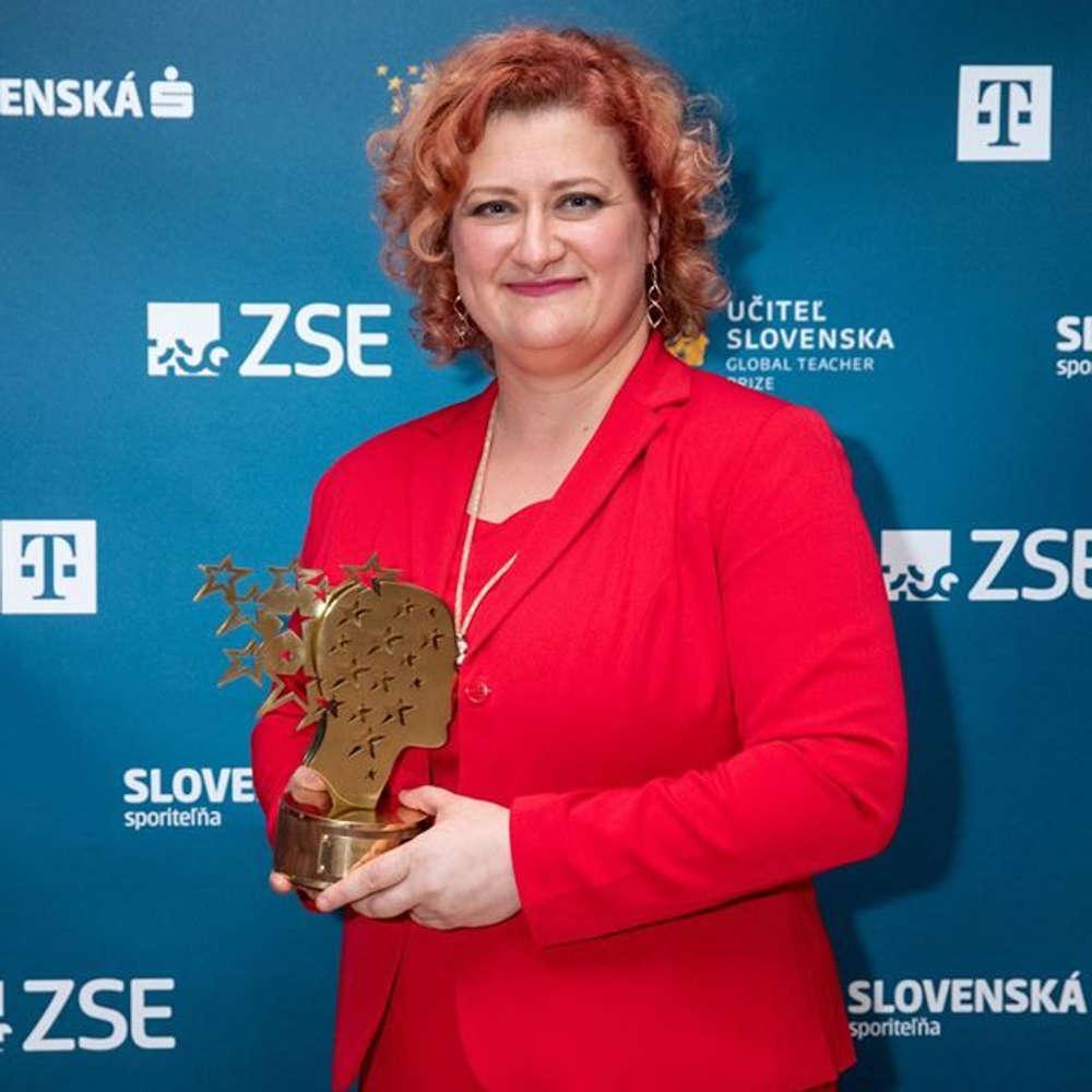 Učiteľom Slovenska 2018 je Zuzana Tkáčová z Košíc. Gratulujeme! 33b9726cc79