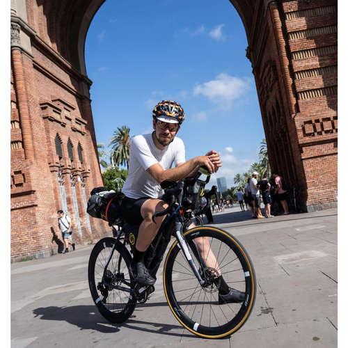 #210 Na trase Three Peaks Bike Race s Adamom Popovcom