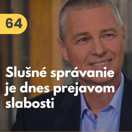 64. Anton Bódis (biznis etiketa): Slušné správanie je dnes považované za prejav slabosti #rozhovor
