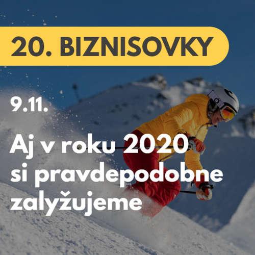 20. BIZNISOVKY (9.11.): Aj v roku 2020 si pravdepodobne zalyžujeme. Podnikatelia a ministerstvo dopravy pripravujú plán  #news