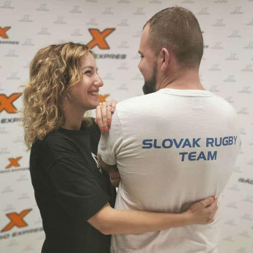 Rugby na Slovensku: Táňa v obývačke vyspovedala manžela, reprezentanta slovenského rugby
