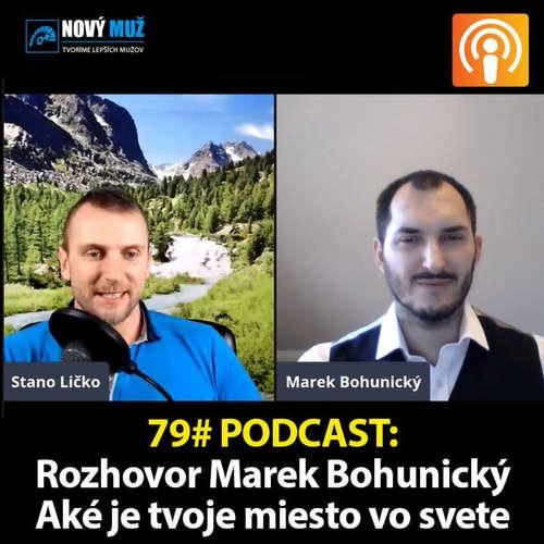 79# PODCAST - Ako sa postaviť do svojej sily a nájsť svoje miesto v živote s Marekom Bohunickým