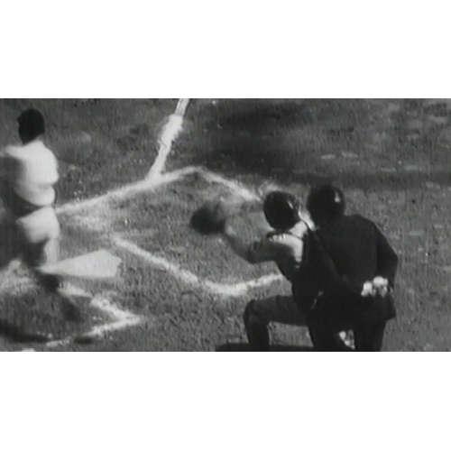V prvním celosvětovém sportovním přenosu se vysílal baseballový zápas