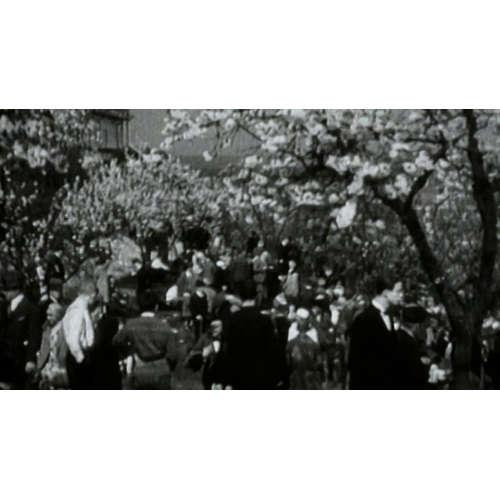 Brňanům kvetou třešně a Pražanům hoří nádraží, psaly před 100 lety Lidovky