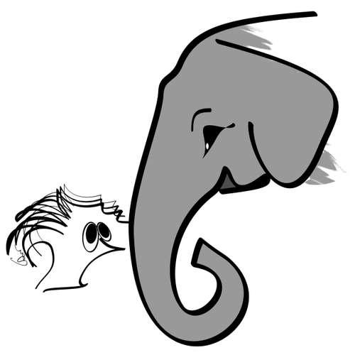 Kapitola 17: Sloni, nebo lidé?