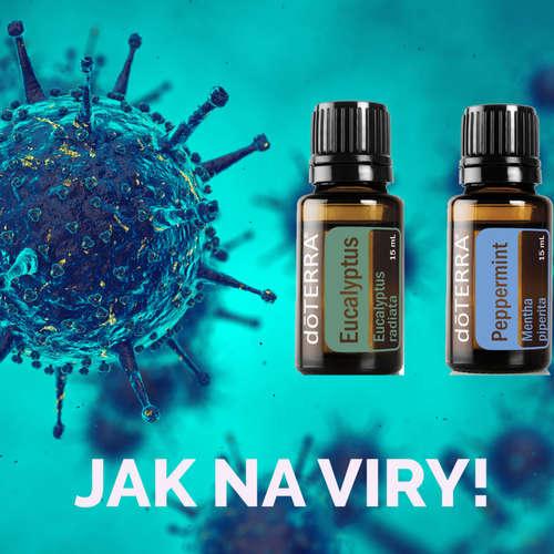 Esenciální oleje a VIRY