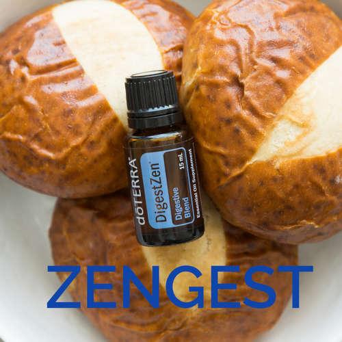 Směs esenciálních olejů ZenGest