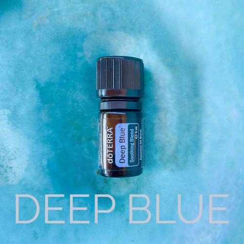 Deep Blue - hluboká modrá, významně chladivá, extrémně hojivá